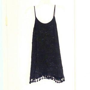 ANGL Black Lace Dress